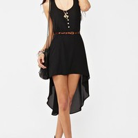 Moondance Dress - Black in  What's New at Nasty Gal