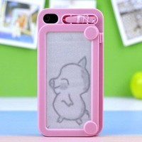 brilliant — C0reative Drawing protective IPhone 4/4s case cover