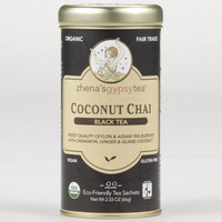 Zhenas Gypsy Tea Coconut Chai Tea, 22-Count Tin | World Market