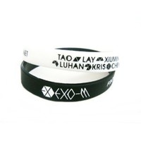Amazon.com: 2 PC EXO-M Boy Band Kpop Accessories Wristband: Everything Else