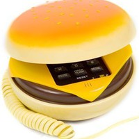 Hamburger Cheeseburger Burger Phone Telephone IN JUNO(Telephone):Amazon:Everything Else