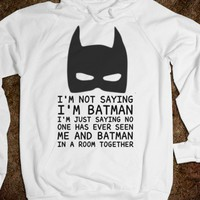 Batman Sweatshirt - Its a hit - Skreened T-shirts, Organic Shirts, Hoodies, Kids Tees, Baby One-Pieces and Tote Bags