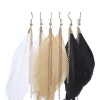 6 On Feather Rhinestone Set | Shop Jewelry at Wet Seal