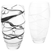 Drizzle Glass Vases