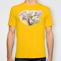 Lilacs bouquet T-shirt by Vargamari