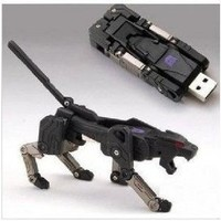 Amazon.com: 64 Gb USB Memory Stick Flash Pen Drive Black Leopard Transformer: Computers & Accessories