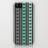 Hearts iPhone & iPod Case by Ornaart