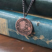 Custom Gallifreyan Doctor Who Pendent