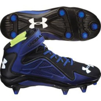 The latest generation of men's football cleats are built for an air-light fit and terrorizing traction on the field. Take on any field condition with new integrating lacing systems and midsole padding that keeps you on your feet longer. Explore a variety of cleat constructions for the football cleat that's right for you.