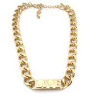 Love ID Necklace