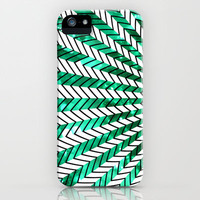 Low Peeks In Mint iPhone & iPod Case by Ornaart