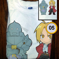 Premium Quality Custom Full Metal Alchemist Anime T-Shirt