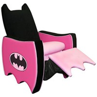 Warner Brothers Batgirl Icon Child Recliner - #X1629 | LampsPlus.com