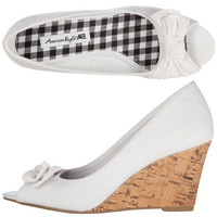 Womens - American Eagle - Women's Jenerr Side Bow Wedge - Payless Shoes