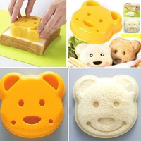 Tanboo Cute Bear Shaped Sandwiches Mold
