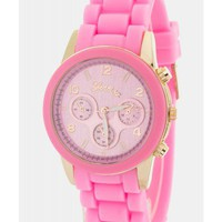 Jelly Pink Watch