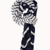 Gradated Striped Scarf