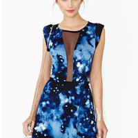 Space Limit Skater Dress