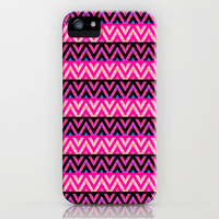 Pink #8 iPhone & iPod Case by Ornaart