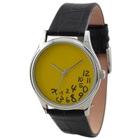 Craze Hours Watch (Yellow)