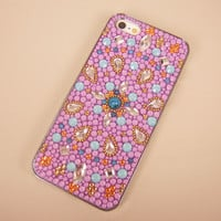 Full Gemstones Embellished Case for iPhone 5