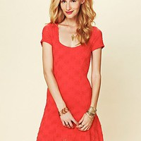 Free People Daisy Godet Slip Dress