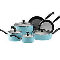 Farberware Classic Colors 12-Piece Set - Turquoise — QVC.com