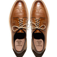 Freemans Sporting Club — Allen Edmonds for F.S.C. in Tan Saddle