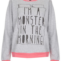 Monster PJ Sweat Top