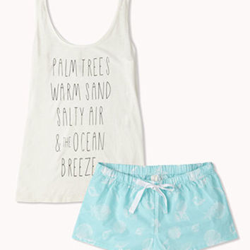 Starfish & Shells PJ Set