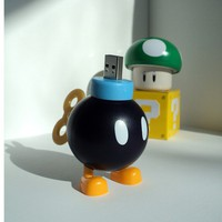 4GB Bob-Omb from Nintendo Super Mario Bros. USB Flash Drive