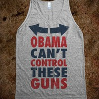 Obama Can't Control These Guns Summer Tank