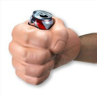 """The Beast"" Giant Fist Cool Can Koozie - Whimsical & Unique Gift Ideas for the Coolest Gift Givers"