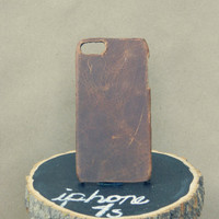 Genuine and rare Bison Leather Iphone Case
