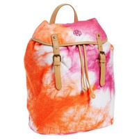 Be Bright Beach Backpack, Pink Tie Dye