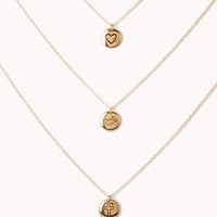 Charm Necklace Set | FOREVER 21 - 1060801061