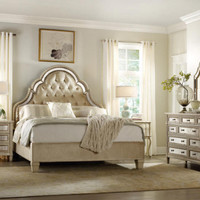 Pearl Essence Queen Size Tufted Bed