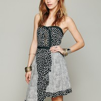 Free People Hot Stuff Strapless Dress