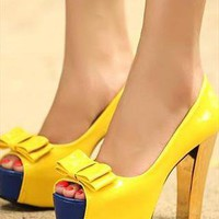 Yellow Shoes from sniksa