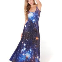 Galaxy Blue Maxi Dress (Made To Order)
