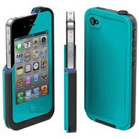 COCO FUN Waterproof Protection Case Cover For Apple iPhone 4/4S - (Multi Color) - Blue