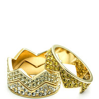 Ombre Pave Bear Trap Ring by Eddie Borgo for Preorder on Moda Operandi