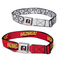 Big Bang Theory Belts