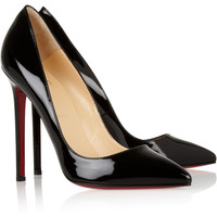 Christian Louboutin | Pigalle 120 patent-leather pumps | NET-A-PORTER.COM