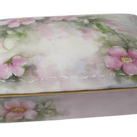 One Kings Lane - La Belle Vie - Hand-Painted Porcelain Box