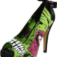 Iron Fist Women's Zombie Stomper Platform Pump: Iron Fist: Shoes