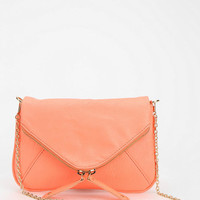Kimchi Blue Double-Zip Envelope Crossbody Clutch