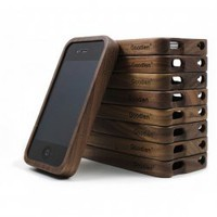 Handcrafted Walnut Wood Case for iPhone4/4S - $21.00 : Cell Phone Cases and Covers,iPad Cases and Covers