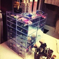 InterDesign Clear Drawers - (Three drawers only, not all these)