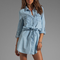 Sanctuary Shirt Dress in Chambray from REVOLVEclothing.com